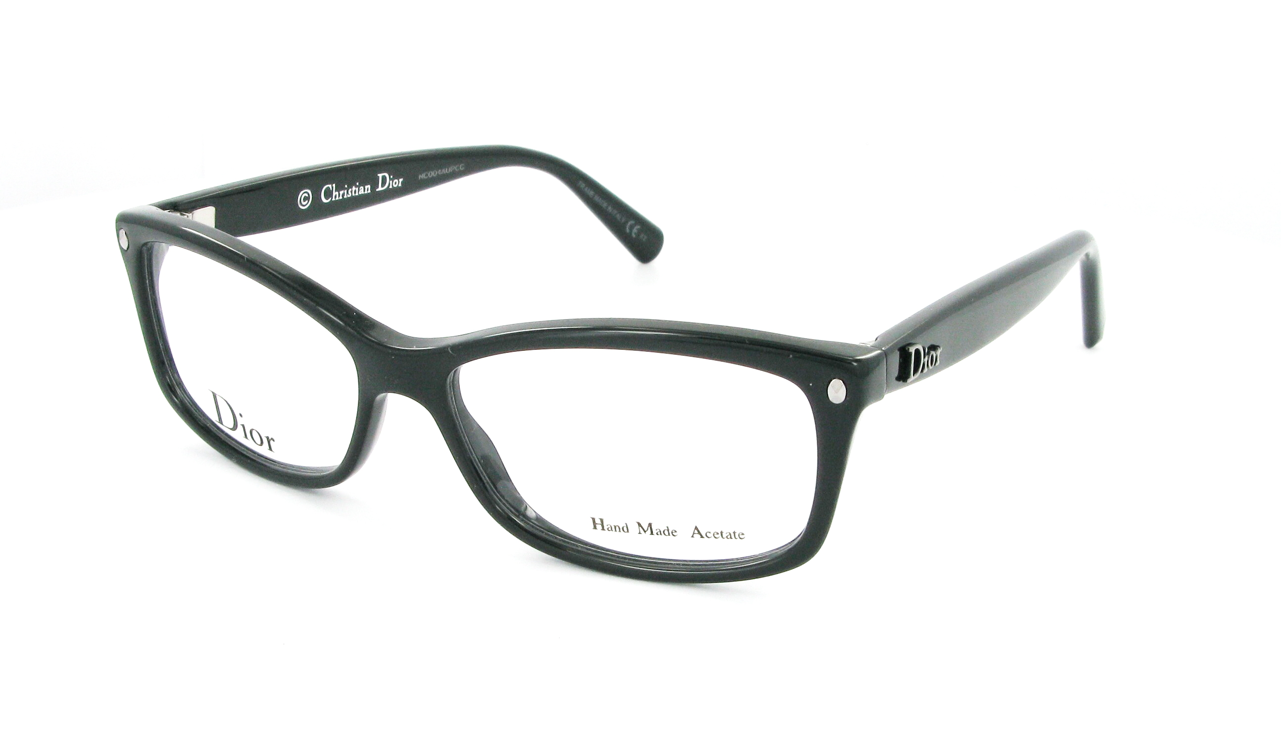 Eyeglasses DIOR CD 3232 29A 54/14 Woman Noir rectangle ...