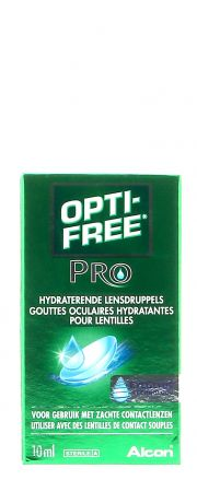 Contact lenses easy-care-solutions ALCON OPTI-FREE PRO HYDRATANT Flacon de 10ml