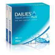 עדשות מגע ALCON / CIBAVISION DAILIES AQUACOMFORT PLUS 180